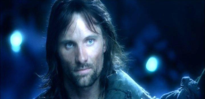 Aragorn in Lothlorien